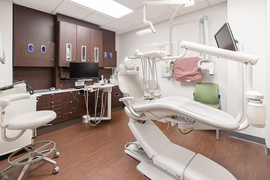 Renovated simulated dentistry clinic