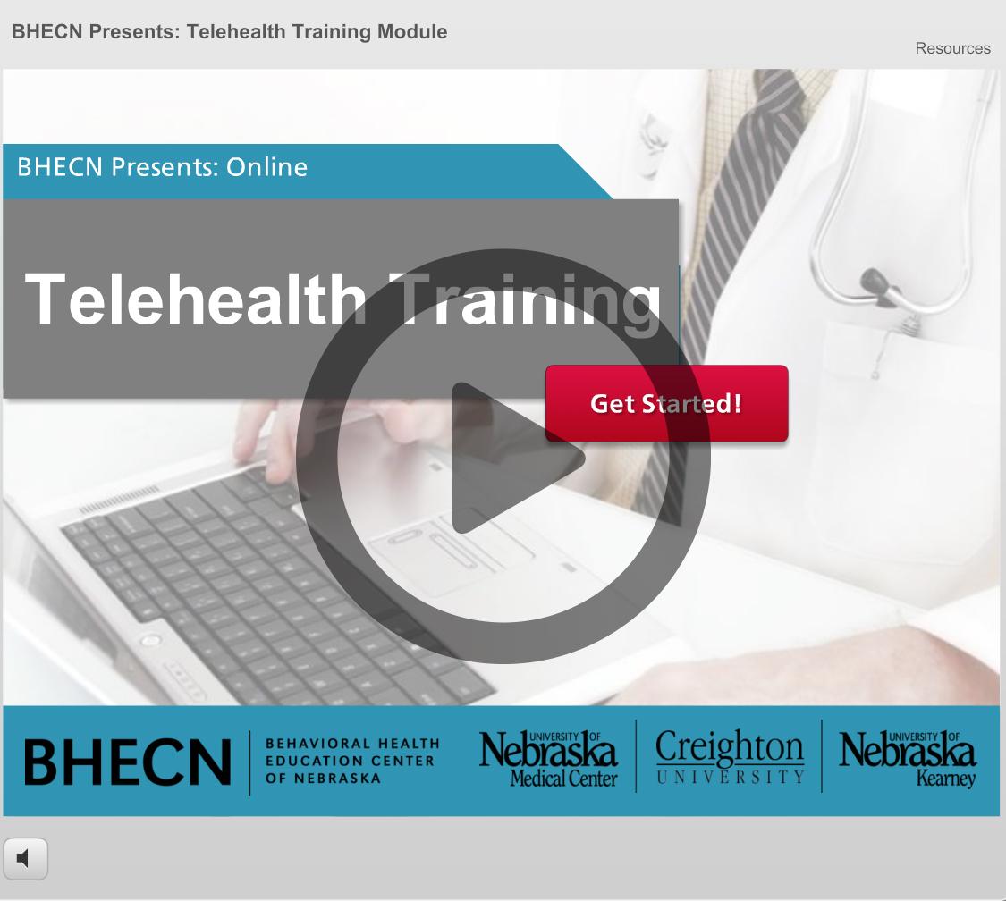 Online Training Modules | BHECN | University of Nebraska ...