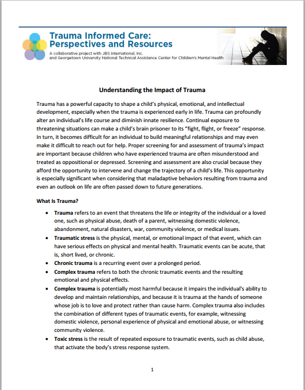Early Childhood Experiences Shape Health And Wellbeing Throughout Life: Trauma Informed Worksheets At Alzheimers-prions.com