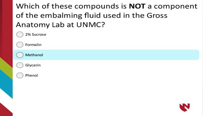 UNMC Gross Anatomy Lab Introduction – E-Gallery