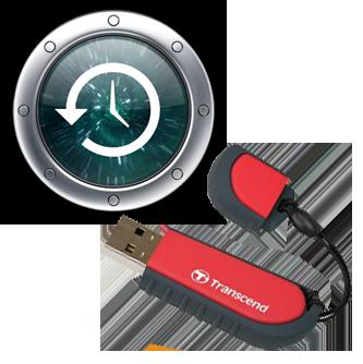 time machine flash drive