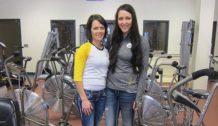 Allison Rankin and Kayla Rankin