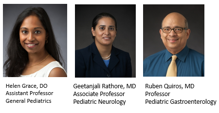 Antiracism Committee:  Helen Grace, DO, Geetanjali Rathore, MD and Ruben Quiros, MD