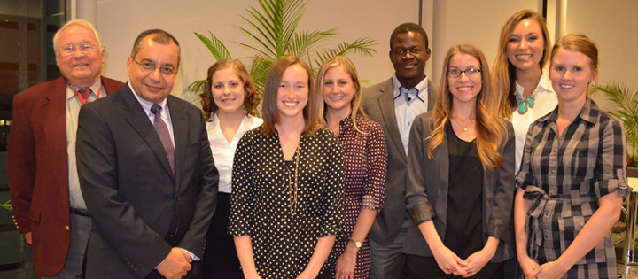 Public Health students present research projects Summer of 2014
