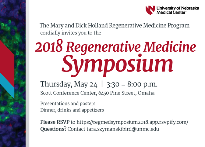 Regenerative Medicine Symposium 2018 Invitation Regenerative
