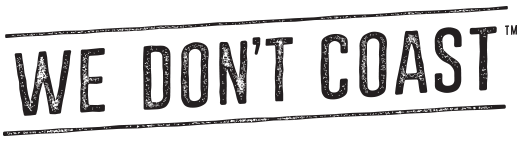 We Don't Coast Logo